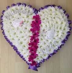 Broken Heart Flower Tribute