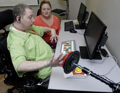 More independence and better connected—that's the purpose of a new computer lab specifically designed for people with disabilities