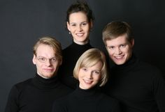 Notos Quartet, winners of the Parkhouse Award in 2011.