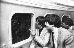 28th August 1964. The Beatles and entourage left for the Wall Street helicopter…
