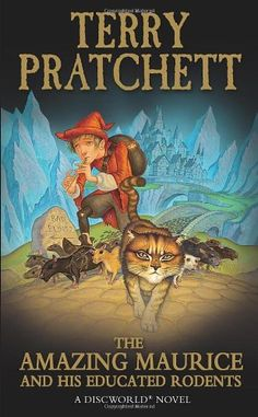 The Amazing Maurice and his Educated Rodents: (Discworld Novel 28) (Discworld Novels) by Terry Pratchett http://www.amazon.co.uk/dp/0552562920/ref=cm_sw_r_pi_dp_UTmBvb1JZZKB3