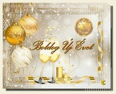 New Year Gif, Happy New Year, Evo, Place Cards, Place Card Holders, Table Decorations, Budapest, Advent, Winter