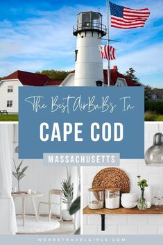Cape Cod is a local's favorite weekend getaway from the bustling East Coast cities, known for its beautiful beaches, picturesque sunsets, delicious restaurants, and outdoor activities. We've put together a list of our 10 favorite AirBnBs in Cape Cod that you can book for yourself. Whether you are traveling as a couple, with a large group of friends, or for a bachelorette party, you can find the perfect Cape Cod AirBnB rental to stay in for your next getaway! East Coast Beaches, Florida Beaches, Destin Beach, Beach Trip, Beach Vacations, Beautiful Hotels, Beautiful Beaches, Florida Travel, Travel Usa