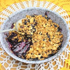 Make and share this Blueberry Crisp (Diabetic) recipe from Food.com.