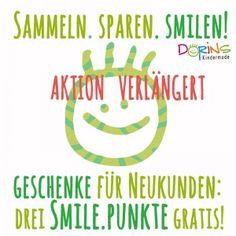 Unsere Aktion der SMILE.PUNKTE wird verlängert!