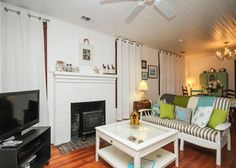 Tybee Island, GA United States - Bluebird Cottage and Nest c1900 | Mermaid Cottages, LLC
