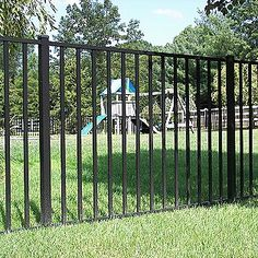 out Specrail Cheshire Aluminum Fence Panel - ShopYourWay DIY Fence Cheshire 482 fence panelDIY Fence Cheshire 482 fence panel Gabion Fence, Brick Fence, Concrete Fence, Front Yard Fence, Pool Fence, Backyard Fences, Garden Fencing, Fence Stain, Bamboo Fence
