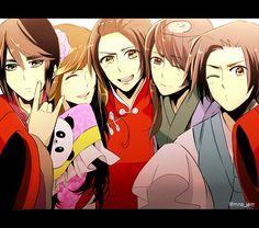 Tags: Anime, Axis Powers: Hetalia, Taiwan, Japan, Hong Kong, China, Vietnam