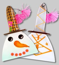 """Raclette à glace """"Ice cream snowman""""======>#accessoires #Bijoux #Noël #Décoration #Coiffure #hommes #Shopping"""