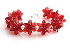 kacenkag / Jarné kvety - červené