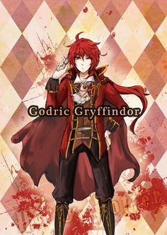 Tags: Anime, Harry Potter, Godric Gryffindor, The Hogwarts Founders, Nwjul0958