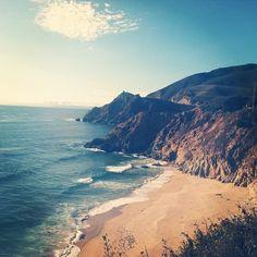 Highway 1. Northern California Coast. Kate Targan Music.