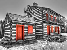 Painted Red - Historic Fort Wayne