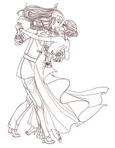 SM - Welcome to the Tango by BethanyRoot.deviantart.com on @DeviantArt