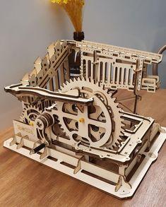 Puzzle en bois 3D Maquette DIY Puzzle mecanique Mecapuzzle DIY  Loisirs créatifs Idée cadeau Puzzle Laser, Wood Sculpture, Puzzle, 3d, Education, Creative Crafts, Gift, Puzzles, Onderwijs
