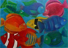 Arte em lápis de cor, por Marjorie Rocha de Oliveira