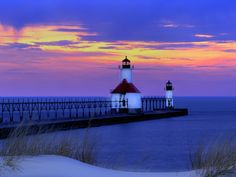 St Joseph, MI  I was born here  Google says this photo comes to you courtesy of Pulsar Media