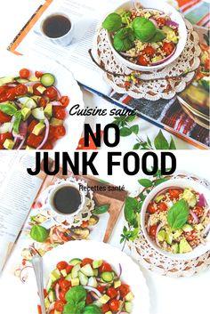 POUR OU CONTRE LE JUNK FOOD Junk food versus cuisine orientale  Notre mode de vie et la nourriture occidentale nuit à notre santé. Elle est supposée de jouer un rôle dans l'apparition de nombreuses maladies chroniques telles : diabète, cancer, allergies, maladies auto-immunes.  On peut l'appeler junk food c.à.d la nourriture sans valeur  (Junk signifie poubelle).