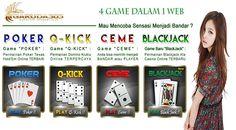 Keasikkan Bermain Judi Kartu Remi dan Domino Online