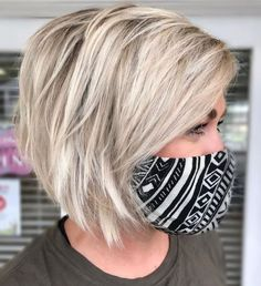 Thin Hair Cuts, Bobs For Thin Hair, Short Thin Hair, Short Hair With Layers, In Style Hair Cuts, Medium Thick Hair Cuts, Medium Bob Hair, Short Hsir, Color For Short Hair