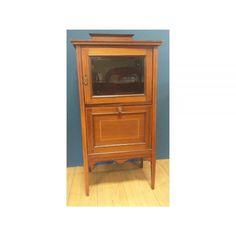 Occasional Furniture / Edwardian Mahogany Inlaid Music Cabinet