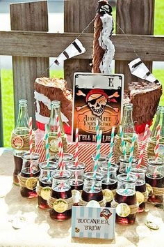 pirate party {simply inspired mama via shop sweet lulu}