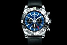 The Breitling Chronomat watches are favored among pilots with a bold aesthetic, robust construction & great performance. Find out more. Breitling Chronomat, Breitling Superocean Heritage, Breitling Watches, Mens Designer Watches, Luxury Watches For Men, Audemars Piguet, Beautiful Watches, Stainless Steel Watch, Watch Brands