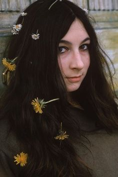 Young Anjelica Huston