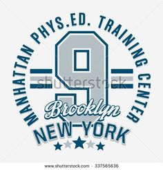 Athletic sport training typography, t-shirt graphics, vectors