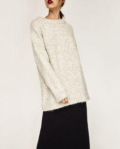Image 2 of SOFT OVERSIZED SWEATER from Zara