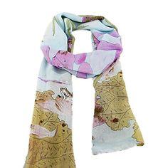 Schönen Warme Druckfähigen Lange Schal für Damen Neuste 2014 Designer Herbst Kleidung Accessories für Damen Geschenk.