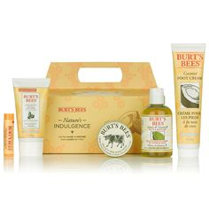 Buy Burt's Bees Nature's Indulgence Gift Set , luxury hair care, skincare and cosmetics at HQHair.com, with Free Delivery.