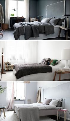 One Apartment, Three Stylists, Three looks - NordicDesign