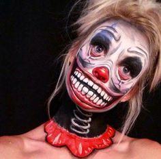 Demon Bunny by Jodie Broadley #scary #Halloween #makeup | Creepy ...