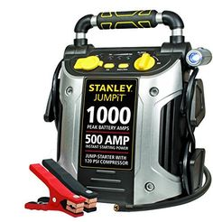 Stanley J5C09 1000 Peak Amp Jump Starter with Built in Compressor, 2016 Amazon Top Rated Replacement Parts  #AutomotivePartsandAccessories