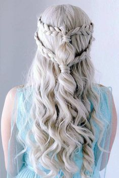 19 + Learn Ways to Make Wavy Hair – Sayfa 4 – Fashion & Beauty Trending Hairstyles, Pretty Hairstyles, Braided Hairstyles, Style Hairstyle, Elegant Hairstyles, Formal Hairstyles, Khaleesi Hairstyle, Teenage Hairstyles, Dyed Hair