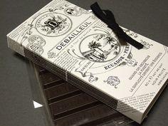 Chocolate Note by Kyoko Matsunaga (would be a good use for the similar vanilla packaging I have)