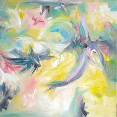 BLISS by Vicki P. Maguire Oil ~ 20 x 20 SOLD