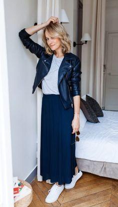 9e2f62541a657 20 Best jupe plisee images in 2017   Fashion Show, Feminine fashion ...