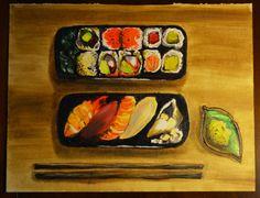 oil sushi Giulia Silvestri