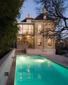 Exceptional transformation of a Victorian home. Mell Lawrence Architects.