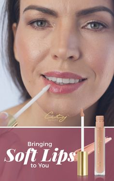 Why City Lips? Lips appear fuller and plumper, deep moisturizing effect that lasts, ingrediants that support healthy aging, and it helps smooth cracks and lines. We're the lipgloss that make your lips shine with and without! Beauty Secrets, Beauty Hacks, Beauty Products, Long Angled Bob Hairstyles, Lipstick Guide, City Lips, Best Lip Gloss, Lip Hydration, Lip Shine