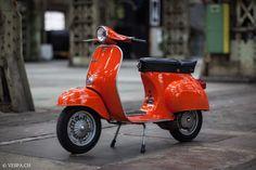 Vespa Primavera Orange, im O-Lack, Originallack, Vespa Smallframe wie Vespa Blackwork, Vespa Primavera, Vespa Smallframe, Vespa Scooters, Sidecar, 5 S, Cars And Motorcycles, Orange, Vehicles