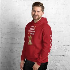 A new hoodie for Yorkshire Terrier dad and parent from our new collection, Almost normal, with white print text and Yorkie design. #yorkie #yorkshireterrier #yorkieclothes #yorkielover #yorkiehoodie #hoodie #doghoodie