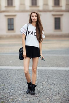model off-duty style