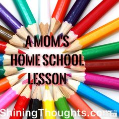 Sometimes we all need to step back and adjust to our kids learning behavior. This is the lesson I learned from early on home school.