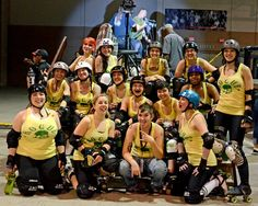 Team Rogue. Love these ladies.