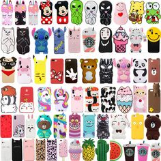 For iPhone New Cute Cartoon Soft Silicone Phone Case Cover - Cute Iphone Case - Ideas of Cute Iphone Case - For iPhone New Cute Cartoon Soft Silicone Phone Case Cover Price : Iphone 7 Cases Silicone, 3d Iphone Cases, Disney Phone Cases, Iphone 6, Cell Phone Covers, Kawaii Phone Case, Diy Phone Case, Cute Phone Cases, Animal Phone Cases
