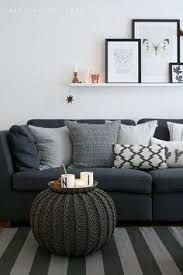 Image result for charcoal sofa pillows