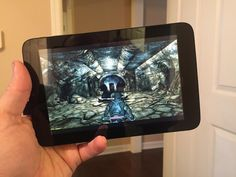 $70 Windows tablet  Steam In-Home Streaming = Portable Skyrim!